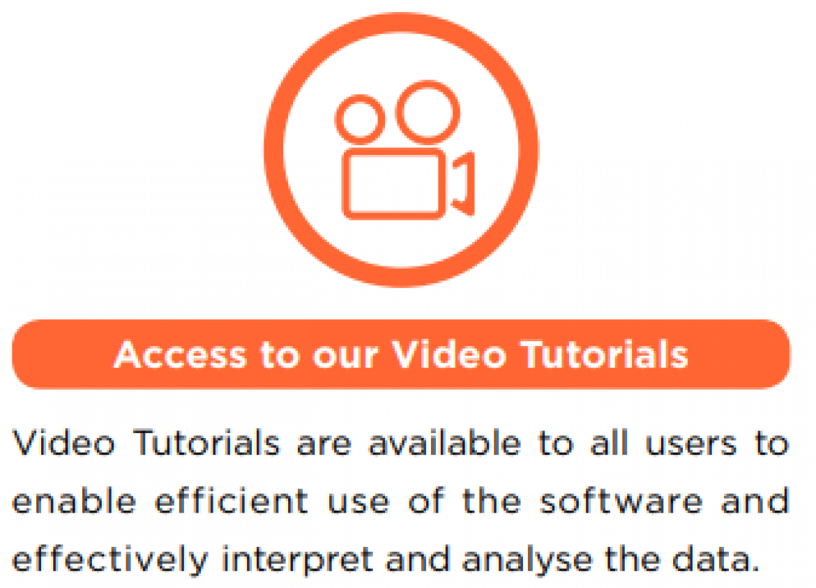 Access to our Video Tutorials